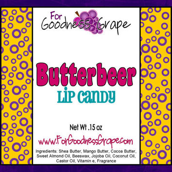 Butterbeer Lip Balm - The Best Lip Balm