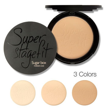 Sugar box New 2015 NEW Fabulous Pressed Face Make up Powder Makeup Powder Palette Skin Finish = 1946604740