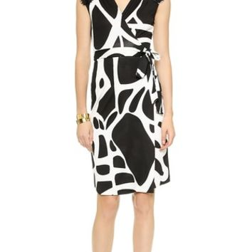 Diane von Furstenberg Olivier Wrap Dress