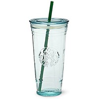 Starbucks Recycled Glass Cold Cup, 20 Fl Oz