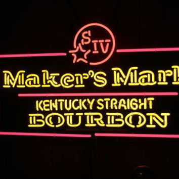 Makers Mark whiskey Neon Sign Real Neon Light