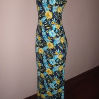 Amazing Summer Time Full Length Healter Dress Size 5/6
