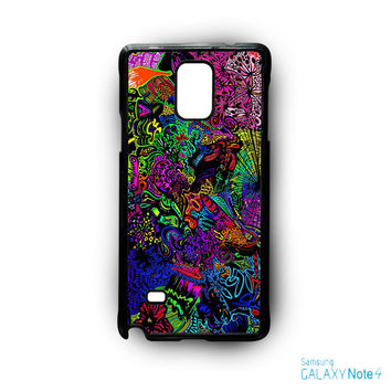 trippy alice in wonderland for Samsung Samsung Galaxy Note 2/Note 3/Note 4/Note 5/Note Edge phonecases