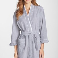 Women's Eileen West Sleepwear 'Vibrant' Seersucker Robe,