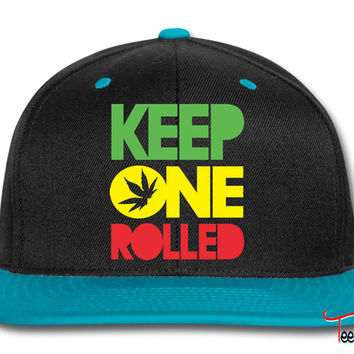 Keep one Rolled Snapback