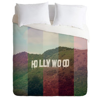 Catherine McDonald Hollywood California Duvet Cover