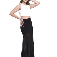 Long Beach Sheer Skirt