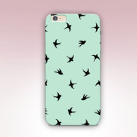 Swallow Phone Case For - iPhone 6 Case - iPhone 5 Case - iPhone 4 Case - Samsung S4 Case - iPhone 5C - Matte Case - Tough Case