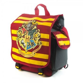 Harry Potter Hybrid Hogwarts Backpack Messenger Laptop Bag Good Quality In Stock