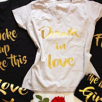 Bachelorette party shirts, Bachelorette shirts, Hen party tee, Bridal party shirts, Bridesmaid shirt, Bachelorette shirt set, Bridal shirts