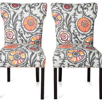 Maria Side Chairs, Pair, Dining Chair Sets