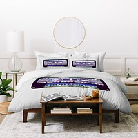 Bianca Green Mix Tape No 10 Duvet Cover