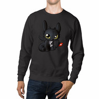 Chibi Toothless How to Train Your Dragon Unisex Sweaters - 54R Sweater