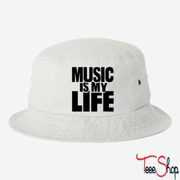 Music is my life 7 bucket hat