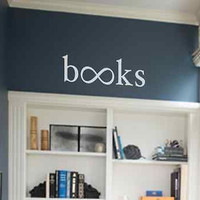 Books with an infinity sign instead of Os