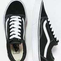 OLD SKOOL - Skaterschuh - black - Zalando.de