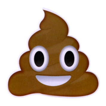 Poop Emoji Sticker