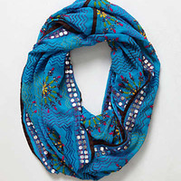 Anthropologie - Sparkle Stitch Infinity Scarf