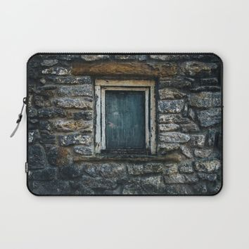 Who's That Peepin' In The Window? Laptop Sleeve by Mixed Imagery