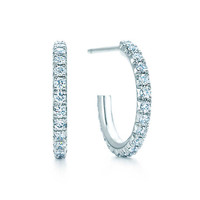Tiffany & Co. - Tiffany Metro:Hoop Earrings