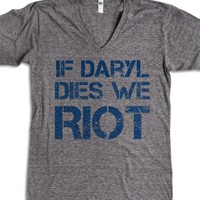 Athletic Grey T-Shirt | Fun Walking Dead Shirts