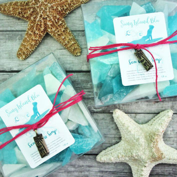 SEA GLASS Soap Party Favors