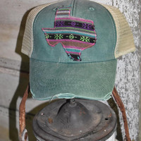 Serape south cap