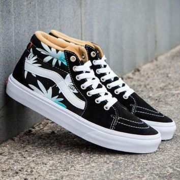 CREYONS Trendsetter VANS SK8-Hi Print Canvas Ankle Boots Shoes Sneakers Sport Shoes