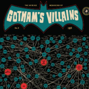 The Myriad Monikers of Gotham's Villains 2.0