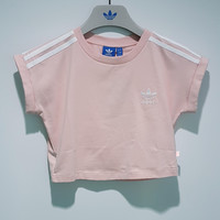 adidas Originals Short-Sleeve Cropped Top | Love Q333