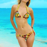 Sunflower Chain Bikini