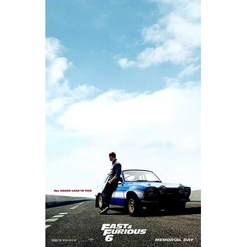 Fast & Furious 6 11x17 Movie Poster (2013)