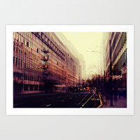London Art Print by ingz
