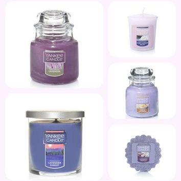 In Love with Lavender Yankee Candle Collection