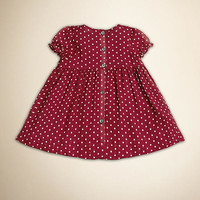 Polka Dot Chiffon Dress