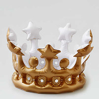 NPW Queen For The Day Inflatable Crown , Multi