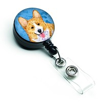 Corgi  Retractable Badge Reel or ID Holder with Clip SS4762