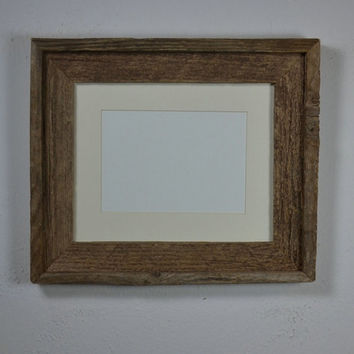 Shabby chic barnwood frame for 8x10 or 5x7 photos free shipping
