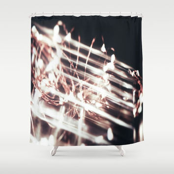 Light Shower Curtain by SoCal Chic Photography