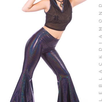 Intergalactic Hologram Bell Bottoms