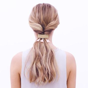 Tassel Ponytail Clip by Chloe + Isabel