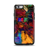 The Abstract Colorful Painted Surface Apple iPhone 6 Otterbox Symmetry Case Skin Set