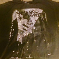 My Chemical Romance Welcome to the Black Parade Concert T Shirt Extra Large / XL