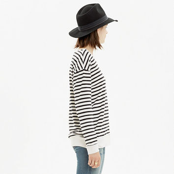 SKARGORN™ #88 SWEATSHIRT TEE IN STRIPE