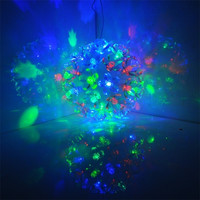 New 50 LED Ball-Flower Fairy Light festival Party Wedding Decoration