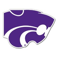 Kansas State University - Wildcat Shaped Magnet