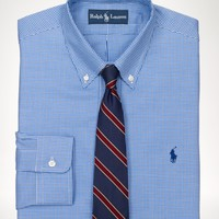 Custom-Fit Checked Dress Shirt - Custom-Fit    Dress Shirts - RalphLauren.com