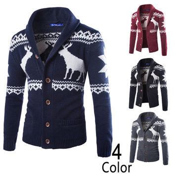 Winter Casual Men Sweater