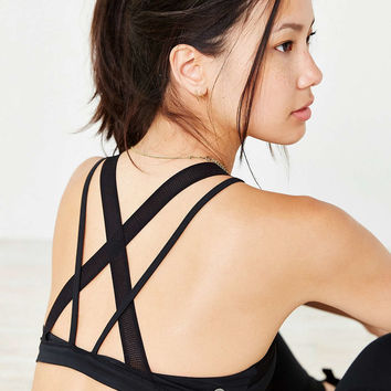 Without Walls Mesh Cross-Back Bra - Urban Outfitters