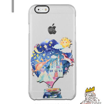 iPhone 6s Case Dream iPhone 6s Plus Case iPhone 6 Plus Clear Castle iPhone Case iPhone 6 Case Transparent Fairy Tale iPhone Case Samsung S6